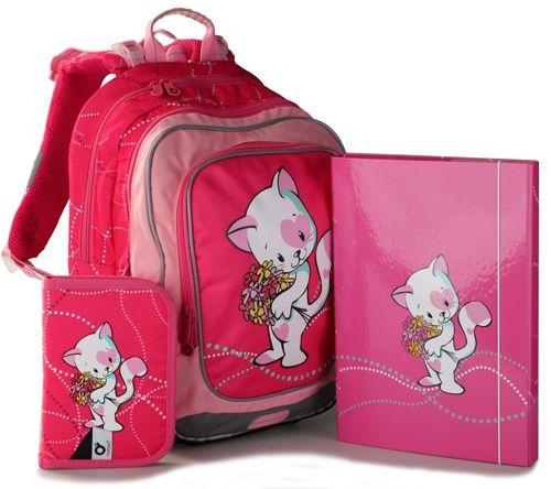 Školní batoh Topgal CHI 732 H + penál a desky A4 zdarma