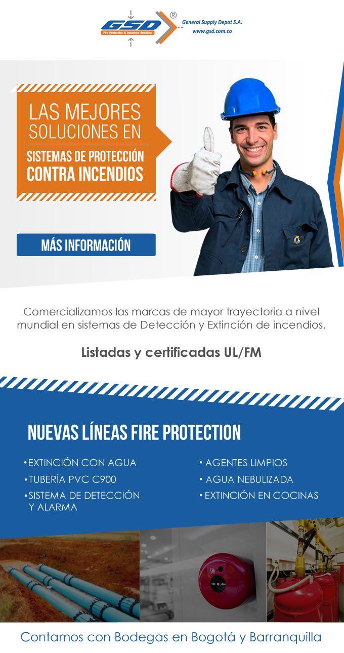 #NOVOCLICK esta con #GSD #Protección #ContraIncendios