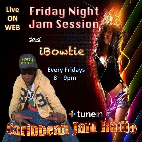 Friday Night Jam Session w/ Selecta Bowie - Every Fridays at 8pm on CJR.