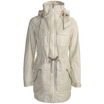 Columbia Sportswear Brooklyn Avenue Safari Jacket - Waxed Cotton (For Women) in Stone