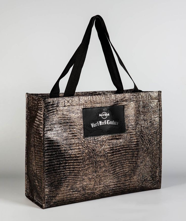 Black Gold Couture Tote - HARD ROCK CAFE