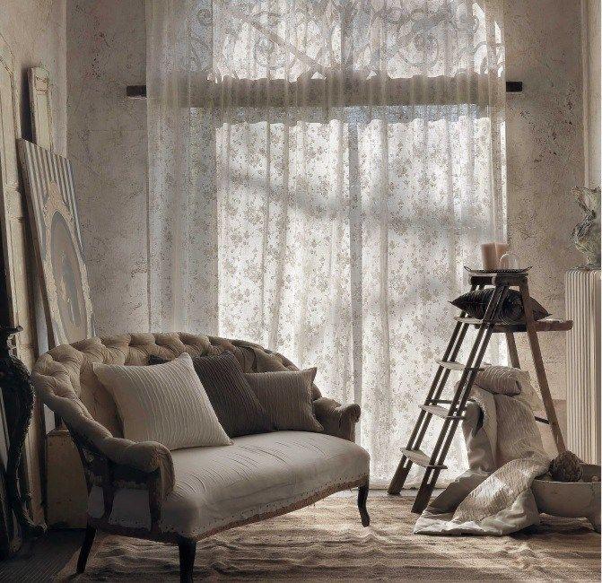 Декор сложного окна