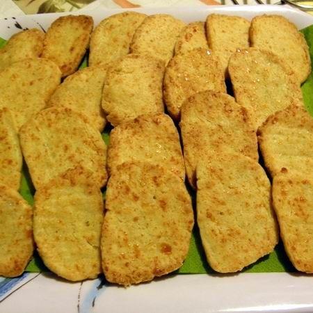Ropogós sajtos keksz Recept képpel - Mindmegette.hu - Receptek