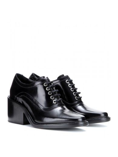 Maud Leather Oxford Shoes www.sellektor.com