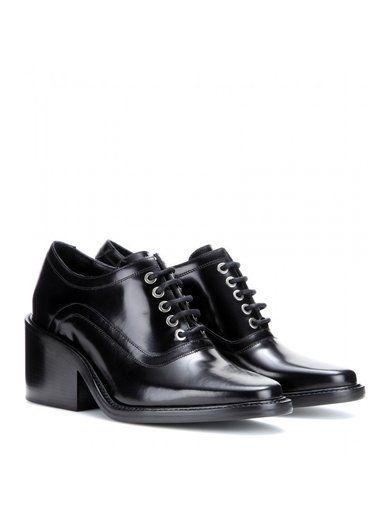 Maud Leather Oxford Shoes www.sellektor.com