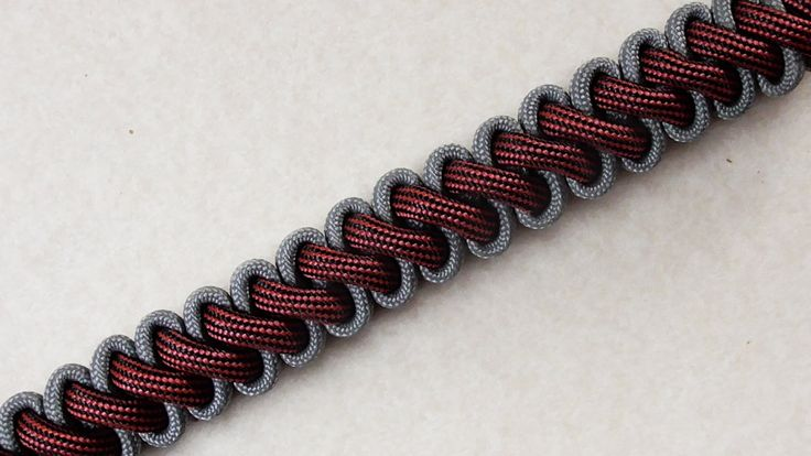 How To Tie A Bootlace Paracord Survival Bracelet Without Buckle