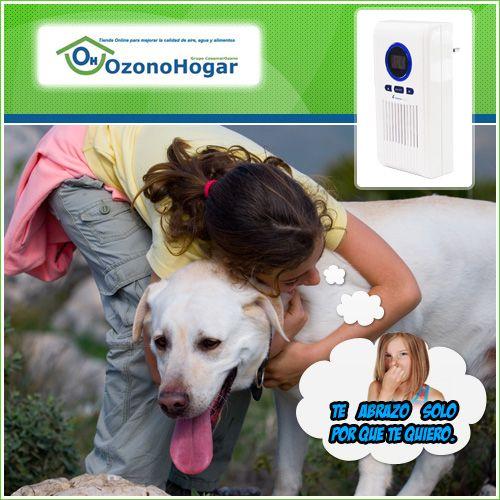 Elimina los agentes causantes de  malos olores de nuestras mascotas, incluso el olor a pis de gato y perro así como los C.O.V. http://www.ozonohogar.com/es/ozonizadores/18-ozonizador-domestico-mini.html