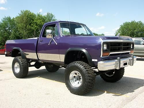 Buy used 1987 DODGE RAM W150 4WD RUST FREE CUSTOM BUILT PICKUP ...