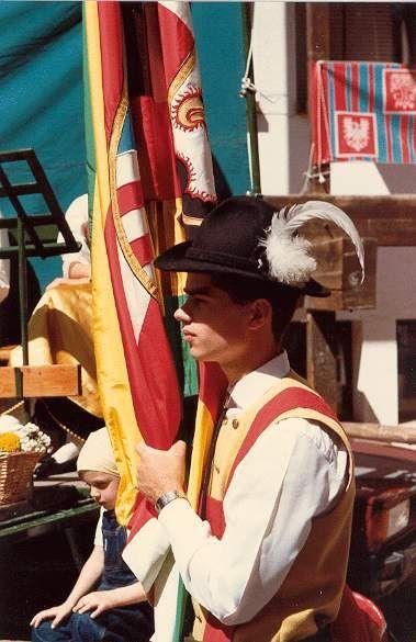 Porta bandiera - Cavalese, Trento Trentino Alto Adige Italy