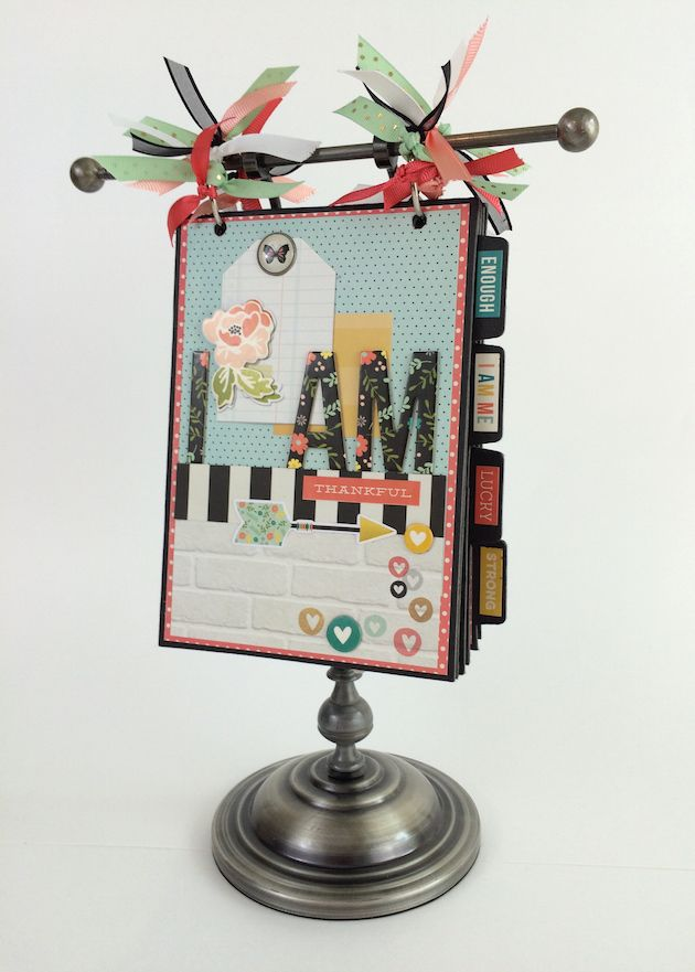 Artsy Albums Mini Album and Page Layout Kits and Custom Designed Scrapbooks by Traci Penrod: Simple Stories I Am Album Kit or Pre-made