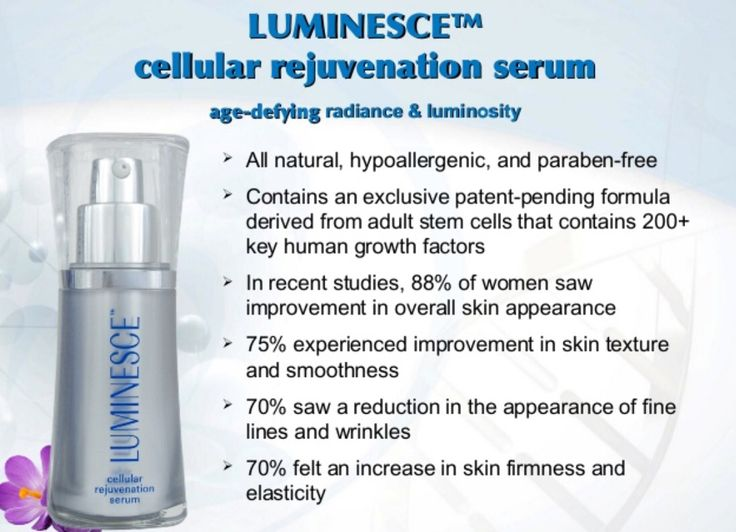 Stem cell technology is used in this great skin care product!
