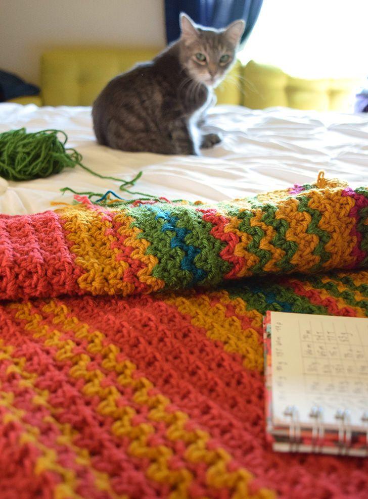 77 besten Temperature afghan Bilder auf Pinterest | Crochet afghans ...
