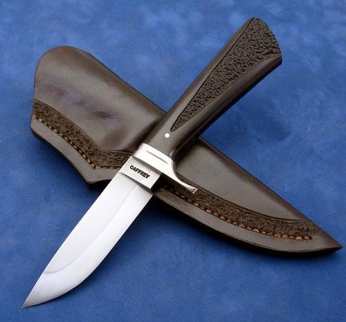 Ed Caffrey ABS Mastersmith 1084 Drop Point Hunter Knife | eBay