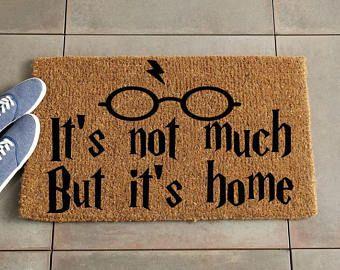Harry Potter Doormat/Harry Potter Decor/Custom Doormat/Custom Welcome Mat/Personalized Doormat/Personalize Welcome Mat/Door Mat/Coir Doormat