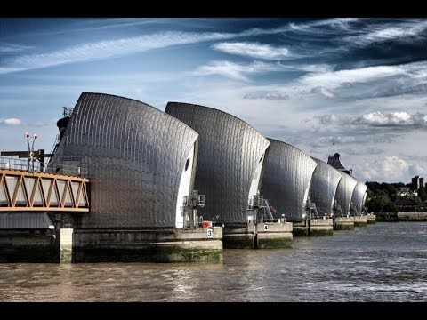 Flood Prevention | Thames Flood Barrier U.K. | 6 min