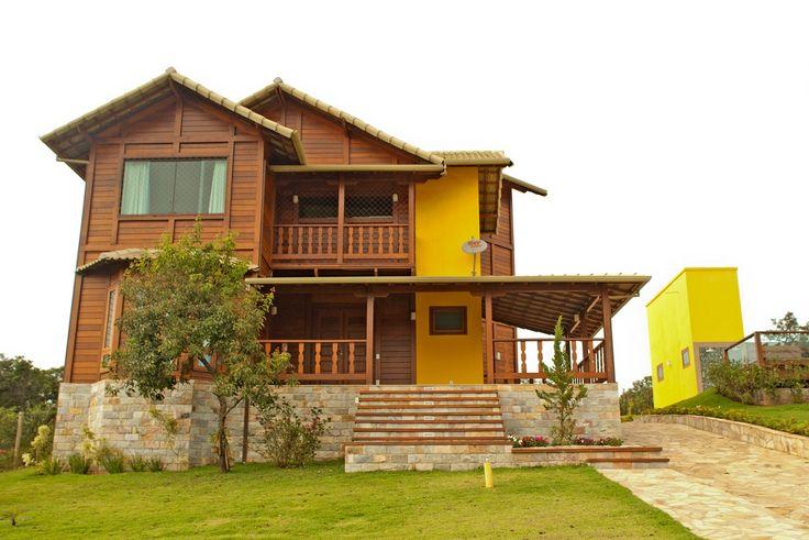 Casas prefabricadas de madeira - Início