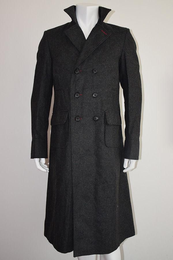 Sherlock Holmes Benedict Cumberbatch Wool Winter Coat We bring you classic coat worn by Benedict Cumberbatch in the renowned TV series sherlock holmes in blende
