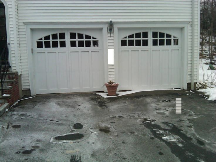 9x7 Cypress Carriage House Garage Door