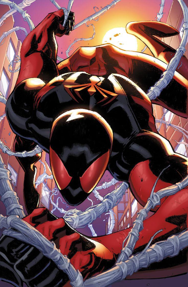 Scarlet Spider 6 by xXNightblade08Xx.deviantart.com on @deviantART