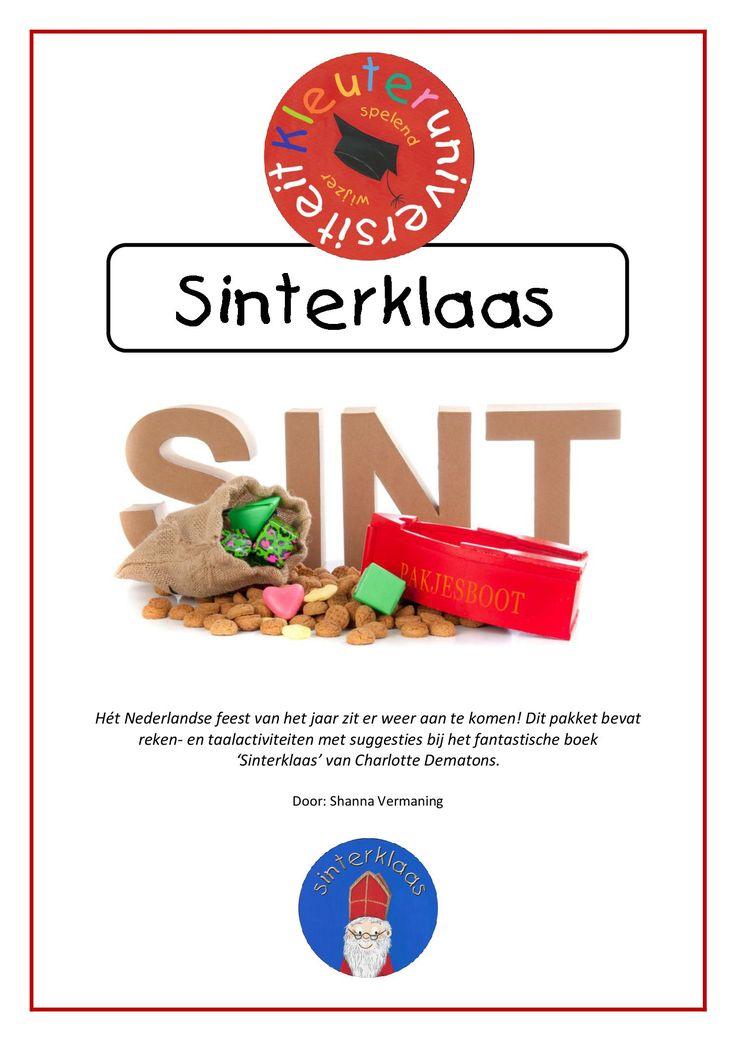 Project Sinterklaas rondom het boek 'Sinterklaas' van Charlotte Dematons!