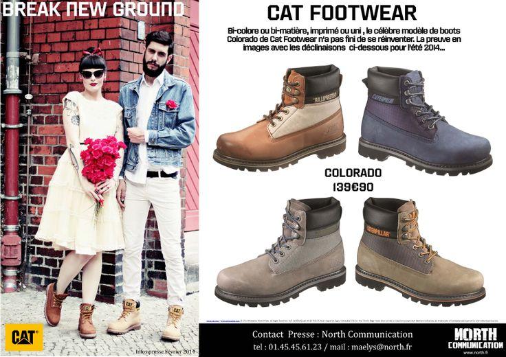 #CAT #CATFOOTWEAR #COLORADO #SS14 #BBREAKNEWGROUND #FOOTWEAR #SHOES #STREET