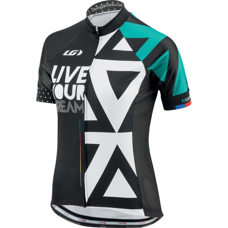 WOMEN'S LIVE YOUR DREAM JERSEY Dreams are the basis of everything we do. They cultivate this passion that pushes to get out and ride every chance we get. The LYD Jersey carries dreams within its DNA. You'll love the softness of its fabrics and its close to the body fit. This jersey is worn by our Garneau Ambassadors everywhere they ride in their quest for memorable cycling experiences, whether it's on the road, in the woods or on the track. It's what they wear to fully live their dreams,