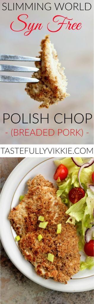 Slimming World Syn Free Polish Breaded Pork Chops - Tastefully Vikkie