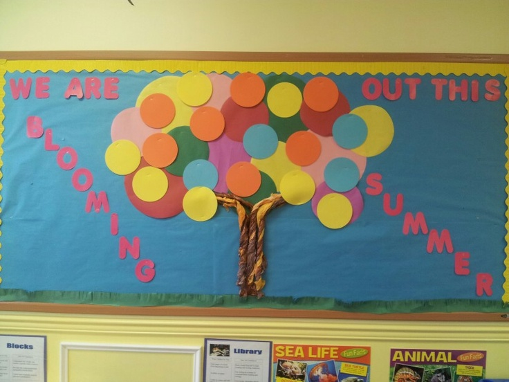 June Classroom Ideas ~ June bulletin board classroom kids pinterest more