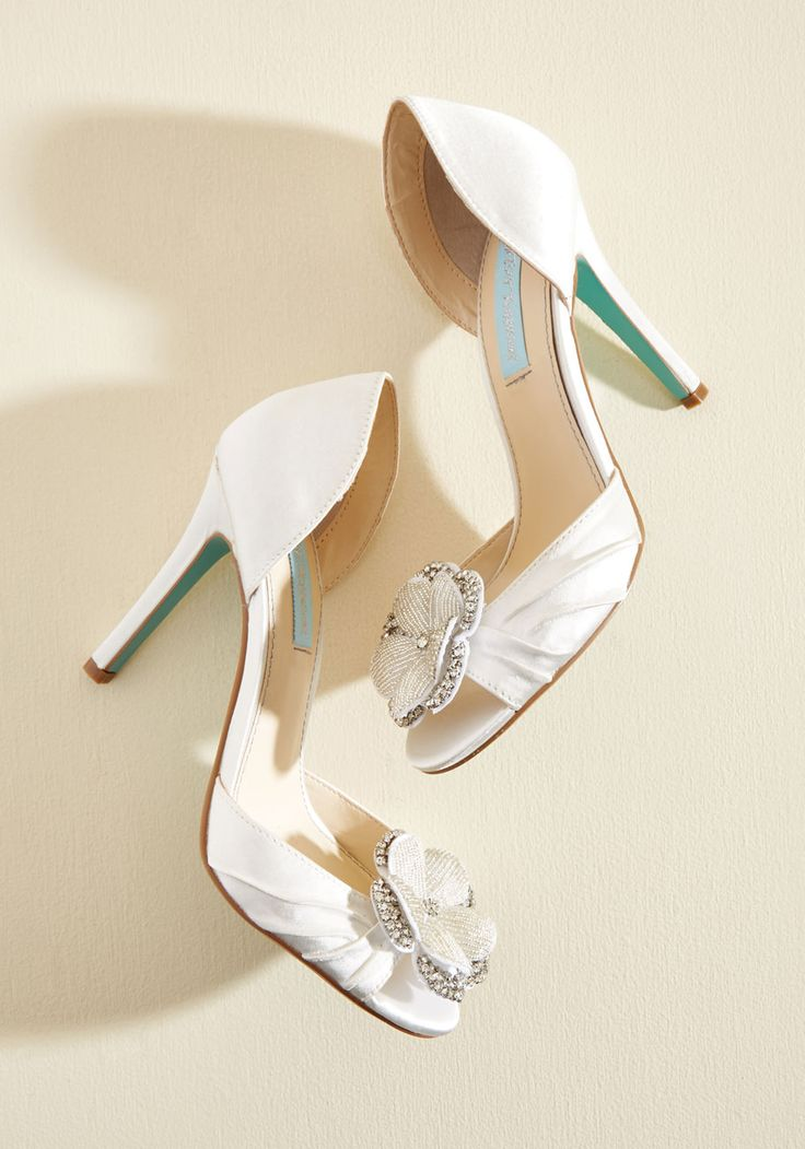 Chic Commitment Bridal Shoes