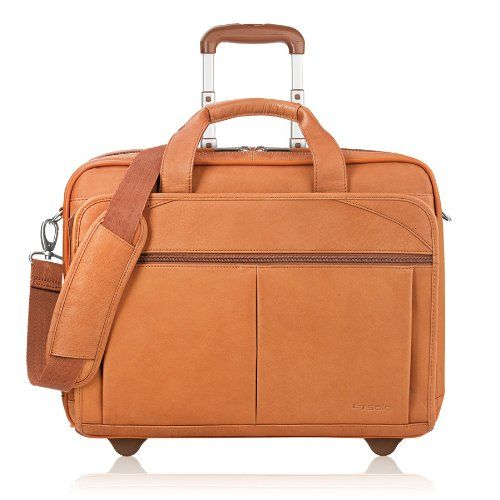 This Solo rolling briefcase would be a perfect travel bag for a business trip!