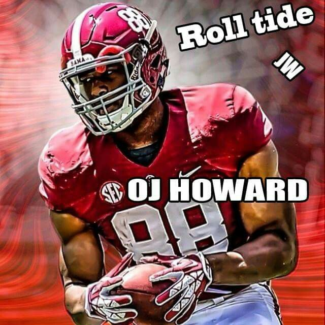 OJ Howard Alabama Football