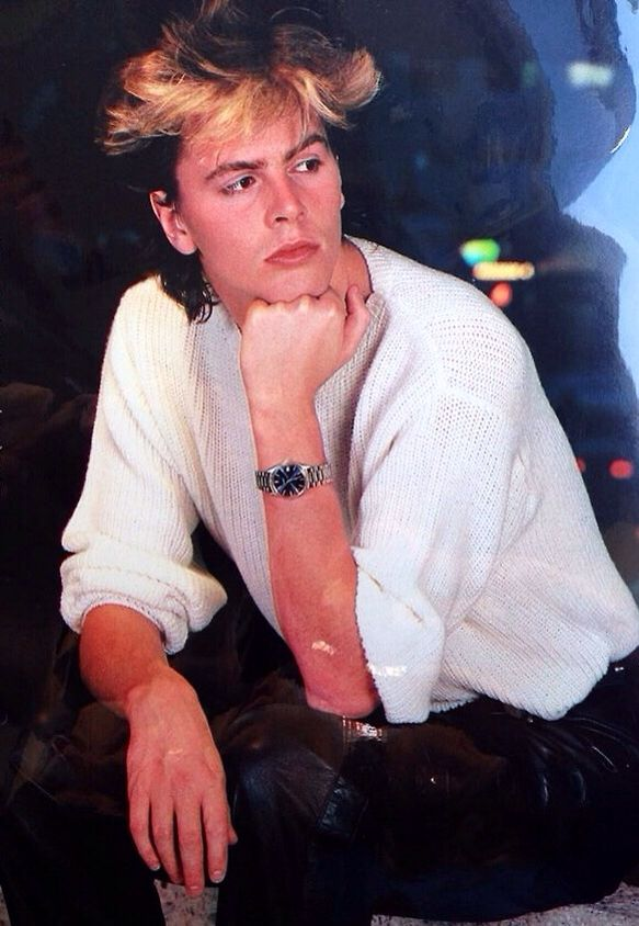 John Taylor - Duran Duran.Highlighted bangs=heavenly