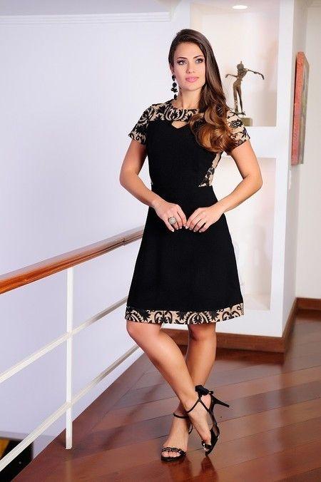 Vestido Tule Recortes - Cassia Segeti - Moda Evangélica e Roupa Evangélica: Bela…