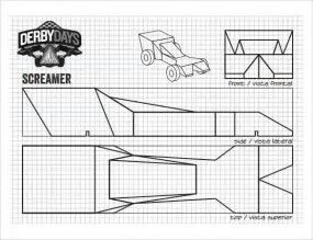 Image result for Pinewood Derby Car Templates Printable Kitt
