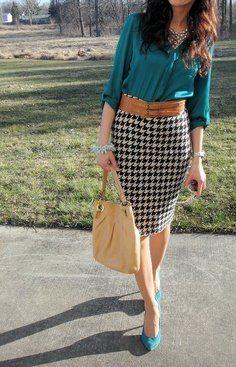 outfit formal juvenil falda , Buscar con Google