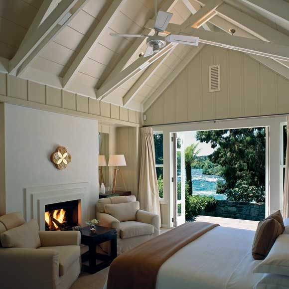 Hospitality: Open and airy - Alan Pye Cottage, Huka Lodge, New Zealand