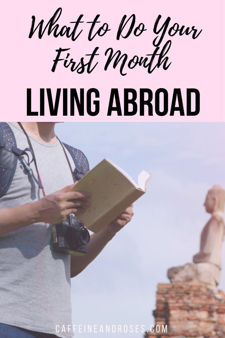 Expat! Thoughts for your first month living abroad