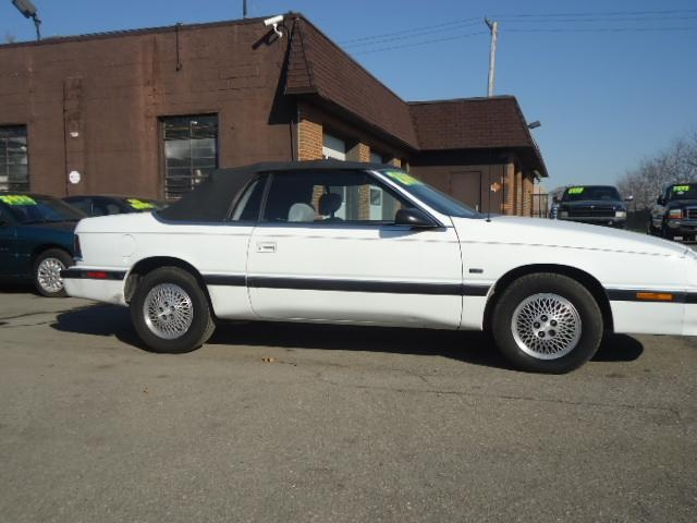 8th Set Of Wheels 1990 Chrysler Lebaron Convertible With Images