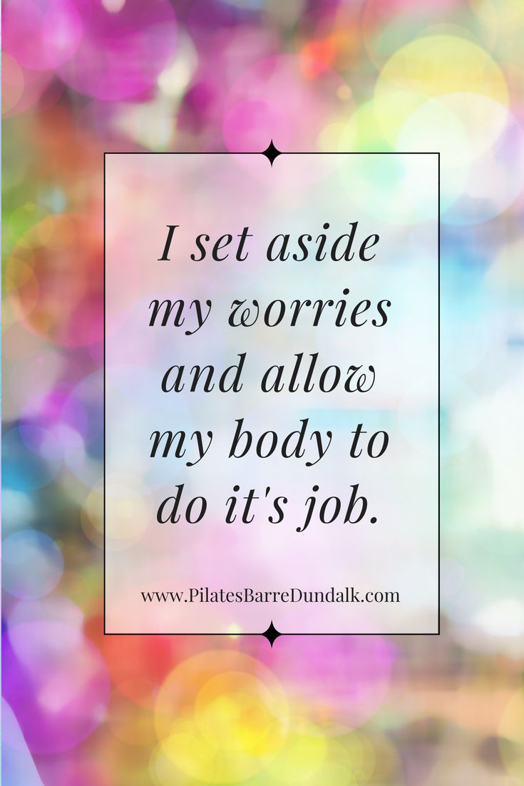 Positive Birth Affirmations - staying positive.