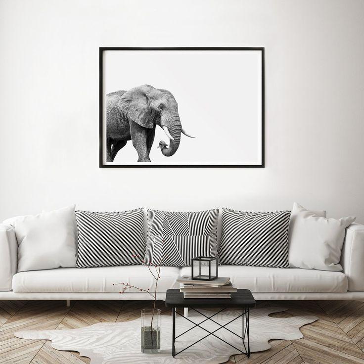 Elephant Art Print Hector Rose