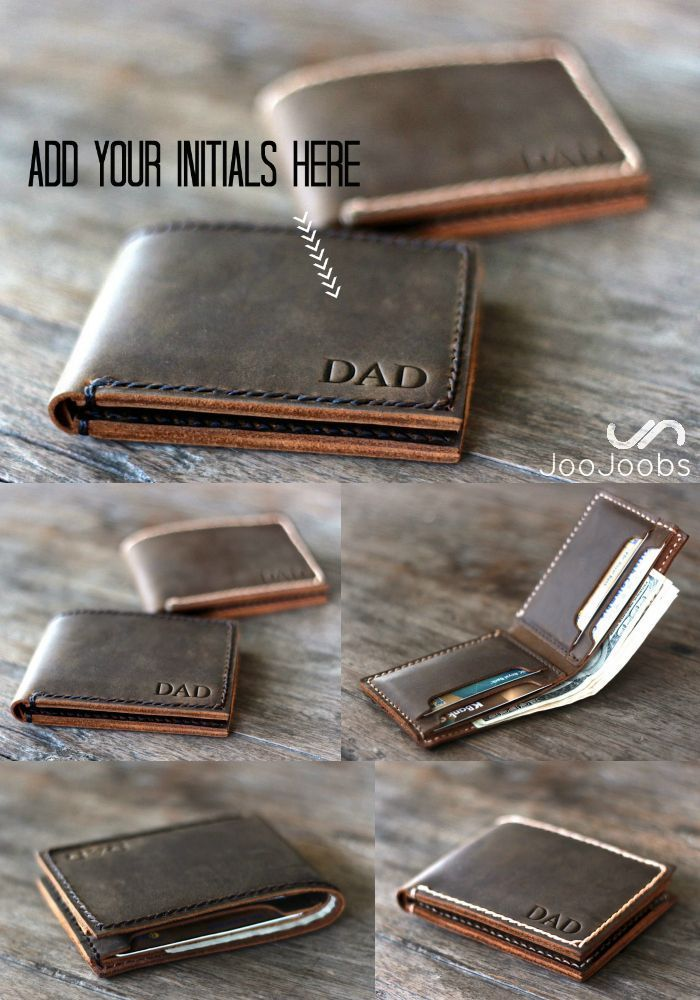 cdce973693458 A personalized handmade leather wallet is the perfect
