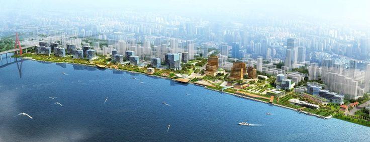 Xin Hua Pudong Waterfront Development Winning Proposal / Inbo + NITA