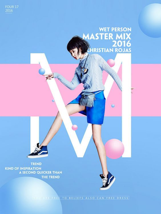 This design looks very active. I feel like the girl in the image is like jumping…