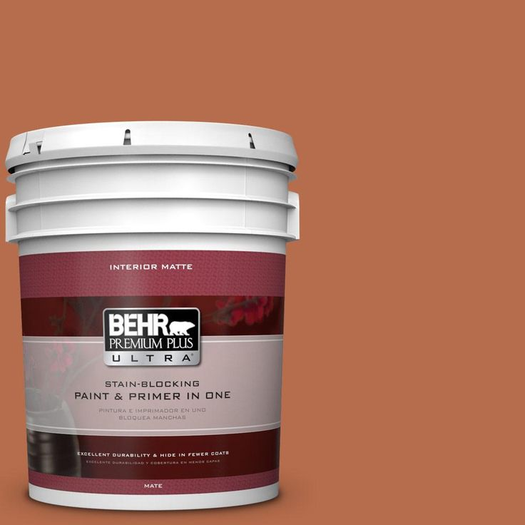 BEHR Premium Plus Ultra 5 gal. #M210-7 Thanksgiving Matte Interior Paint