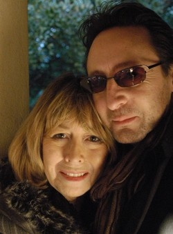Julian Lennon and his mother, Cynthia Lennon. I LOVE THESE TWO. THEY BOTH HAVE SUFFERED MORE THAN WE CAN KNOW. SO GLAD THEY ARE CLOSE,