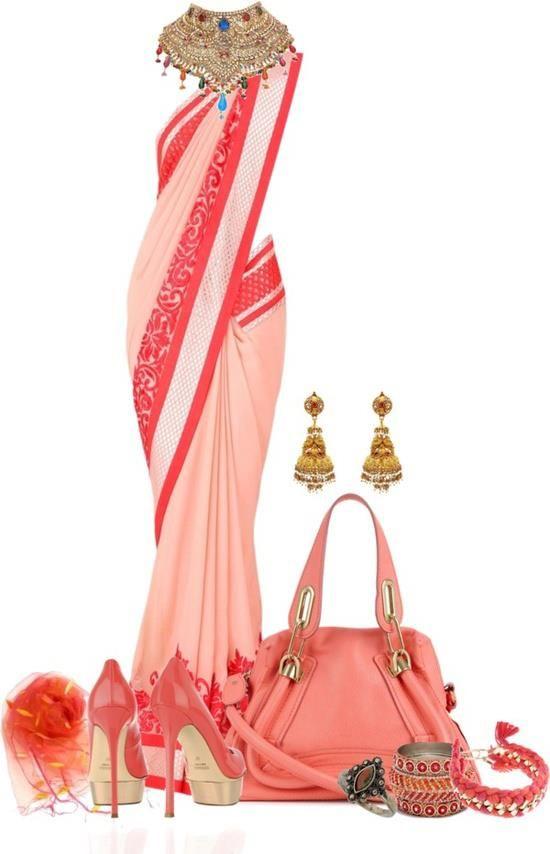Sari - Punjabi style