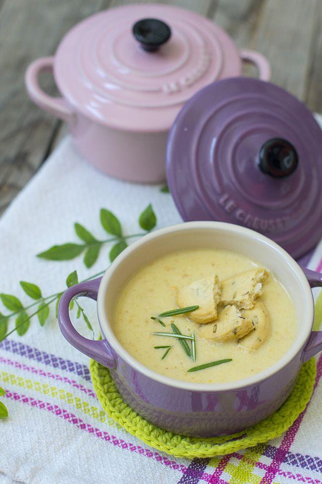 receta de crema de calabacín y kéfir