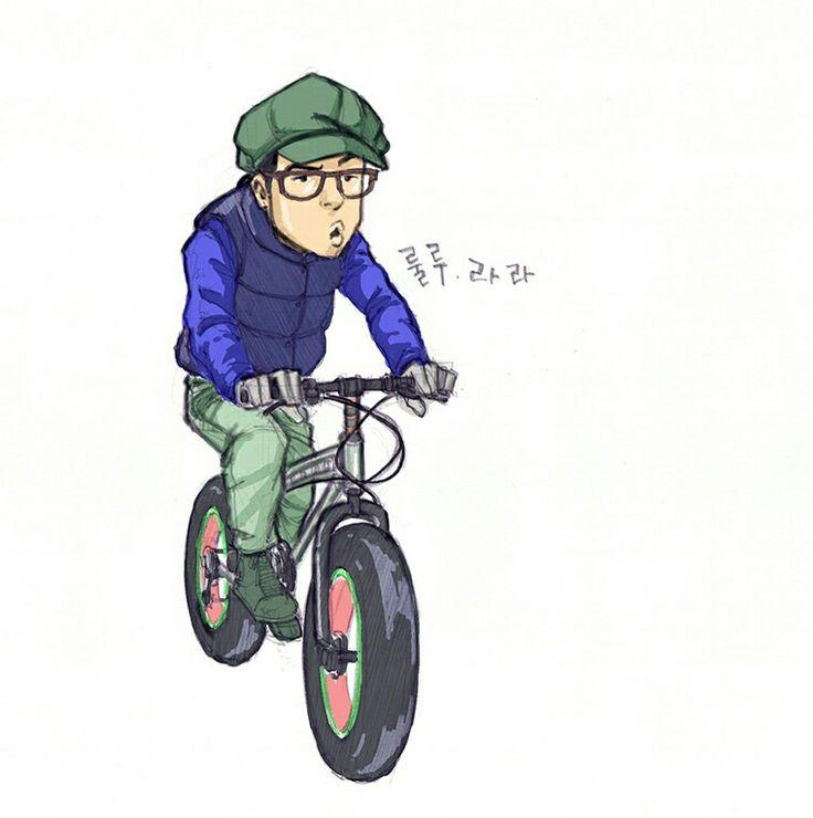 자전거로 영해면을 매일 질주하는 설붕이  #영해면 #괴시리 #현동산방