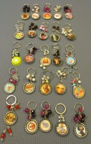 Lot-of-25-Bottle-Cap-KEY-CHAINS-for-Party-Favors-Goody-Bags-GREAT-GIFTS