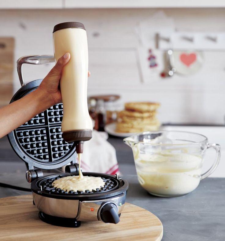 All-Clad+®+Waffle+Maker+|+Crate+and+Barrel
